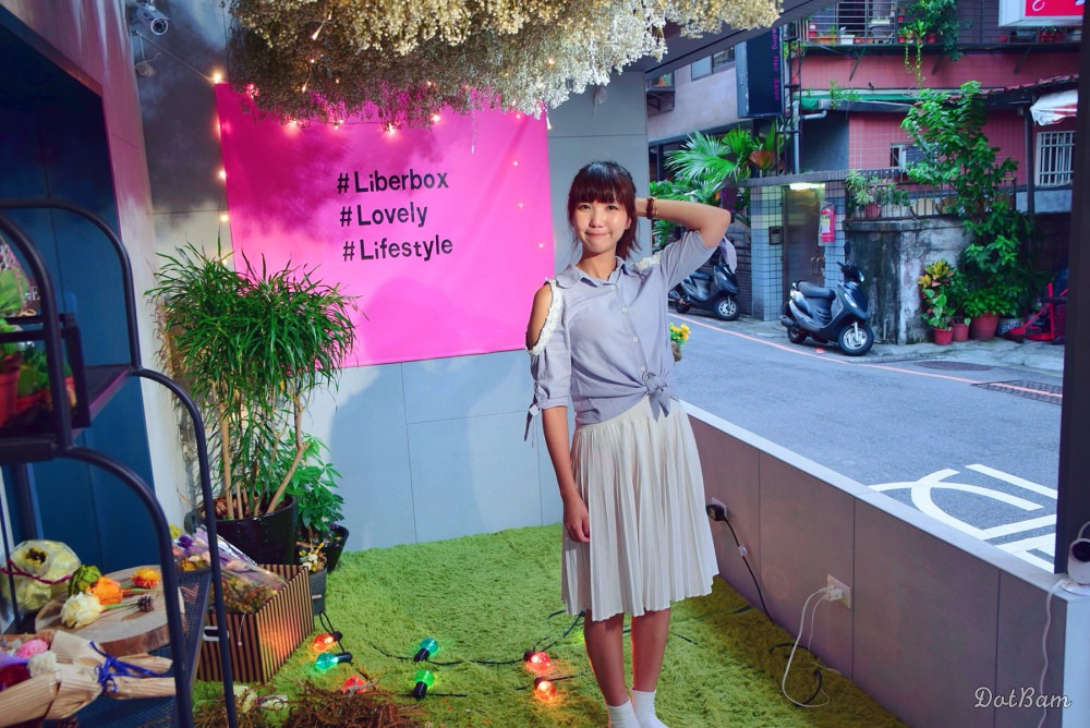 永和景安捷運|自由溫室Liberbox隱身巷弄熱門拍照咖啡甜點店,少女心大爆發