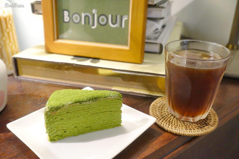 中正紀念堂咖啡廳|生活在他方,在繪本書屋裡下午茶,推薦好吃限定抹茶千層