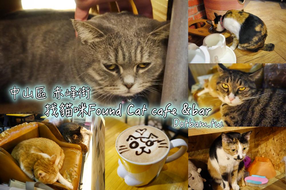 捷運雙連站|找貓咪Found Cat cafe &bar赤峰街貓咪咖啡廳,貓奴快來朝聖