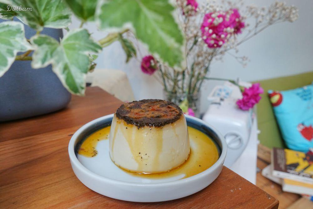 西門站咖啡廳|丸花豆倉,寧靜的空間喝手沖咖啡,推薦迷人的伯爵烤布蕾