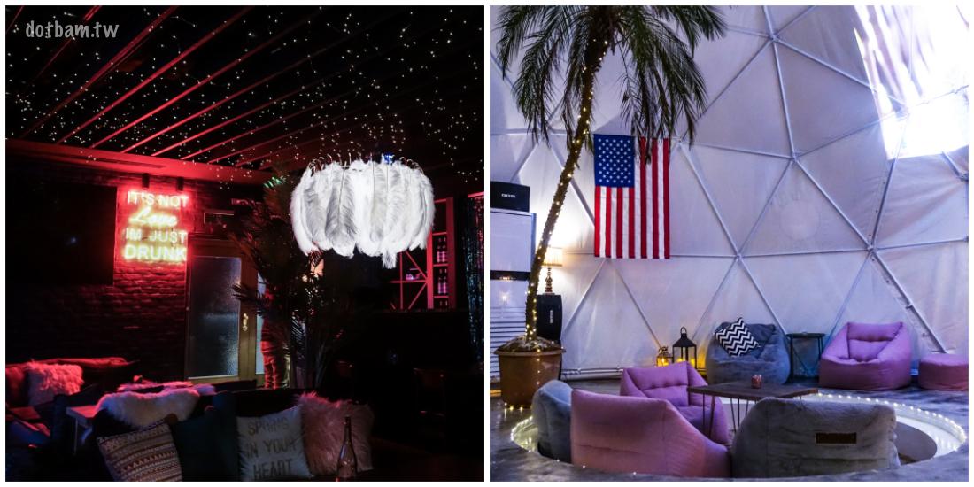 國父紀念館酒吧|爛醉咖啡Drunk cafe咖啡廳結合餐酒館 溫室星空造景超好拍