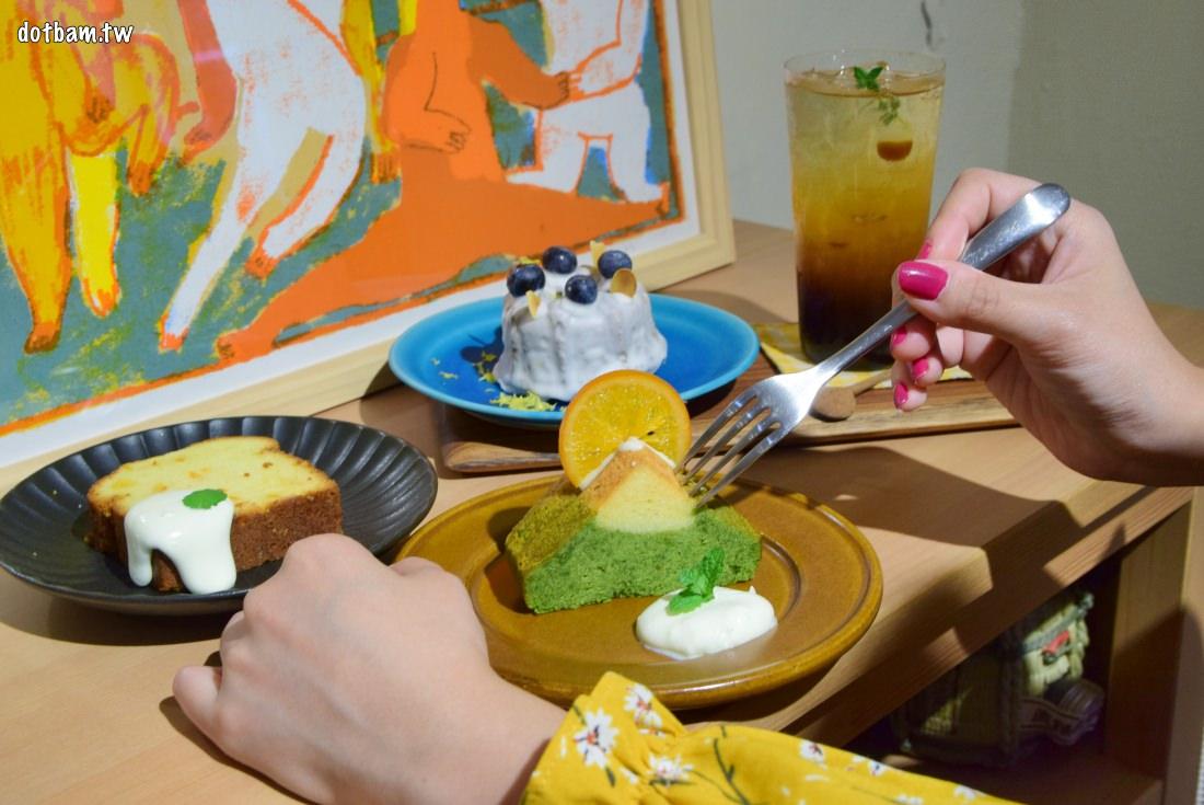 行天宮下午茶推薦|Look Luke溫馨日式空間,手作磅蛋糕及好喝的手沖咖啡