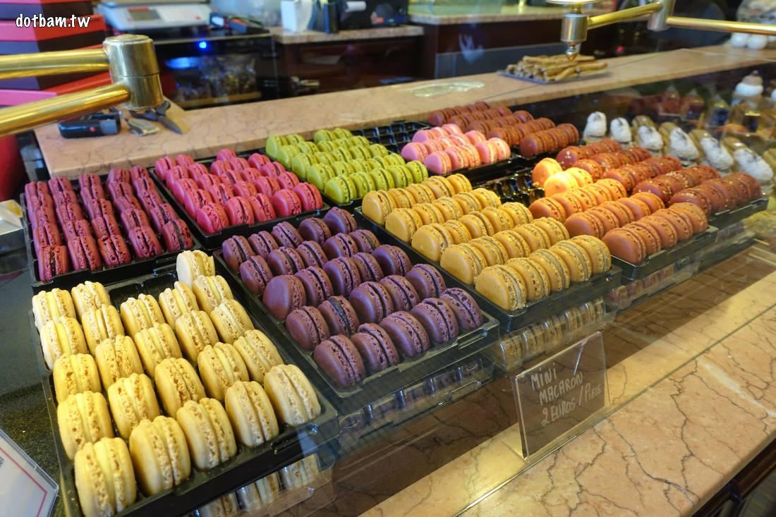 法國巴黎美食|Carette法式傳統甜點茶沙龍,必吃的經典馬卡龍店家推薦