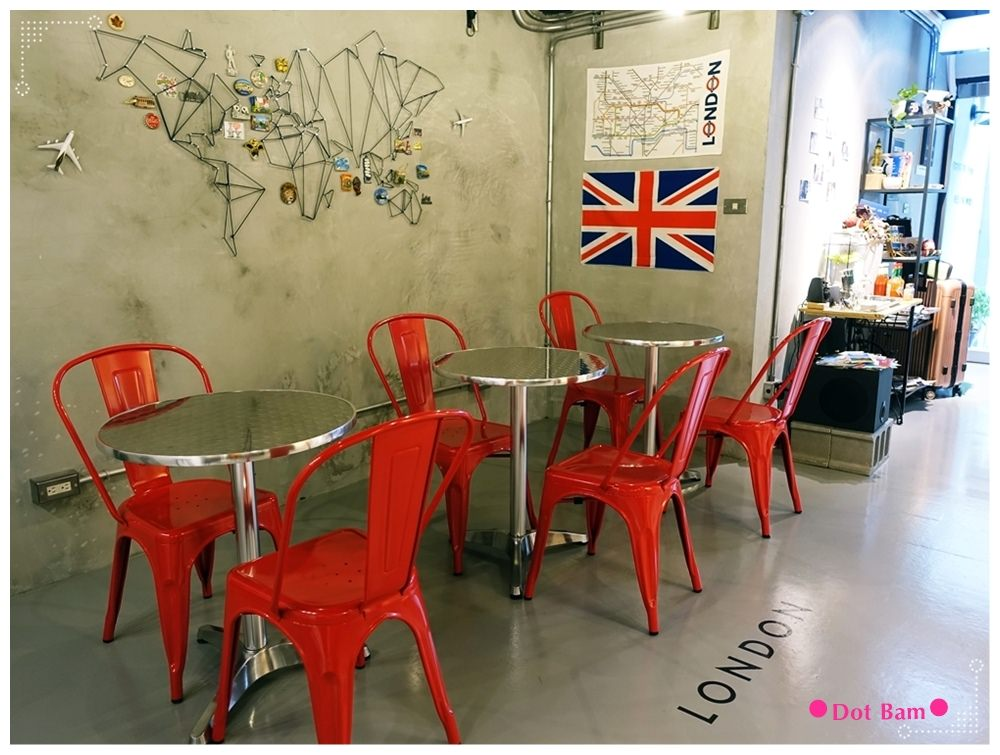 任意門旅行風咖啡館Anywhere Cafe %26; Travel 英國倫敦 1.JPG