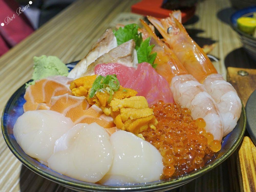 【長鴻丼屋】鮮甜實惠海鮮丼飯,天母日本料理推薦|台北士林區,天母商圈美食