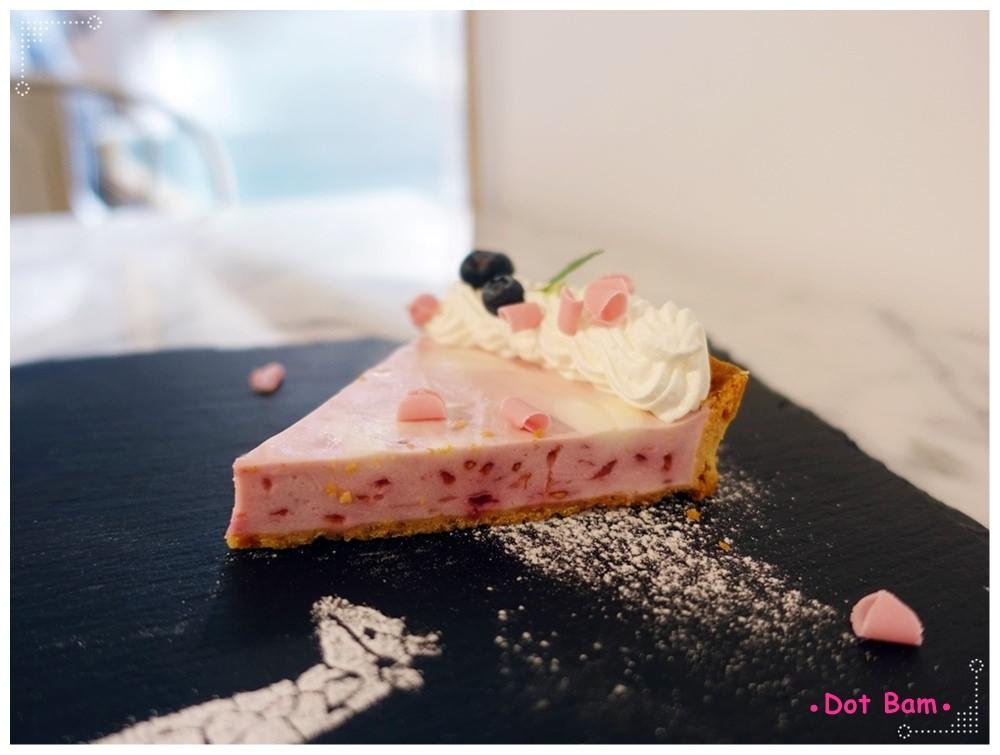 CAFE de Gear 手作經典甜塔,覆盆子口味4.JPG