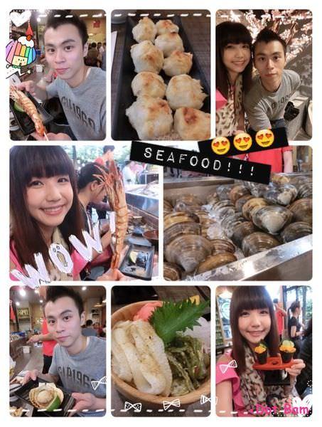 台中生鮮海產,現烤海鮮|食尚玩家報導,隱身公益路黎明黃昏市場內平價生猛海鮮,リ味館