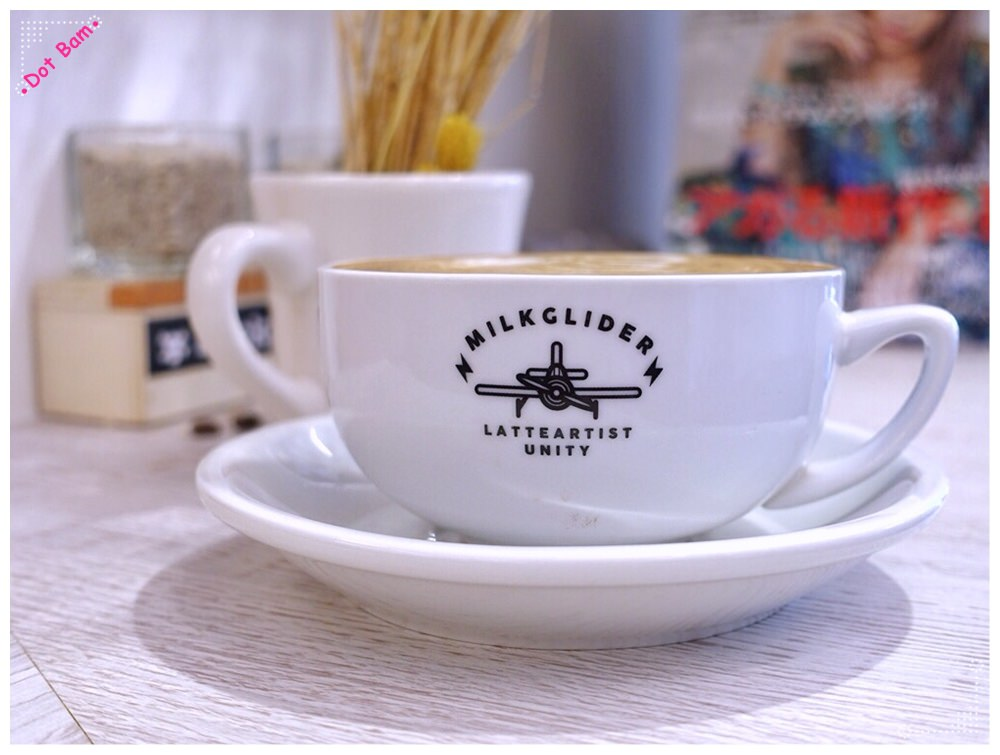 【Milkglider牛奶滑翔機 ⋈ 台北松山區 捷運中山國中站】二訪依舊迷人的拿鐵拉花,少女系彩紅千層回味無窮不限時咖啡廳 8.JPG