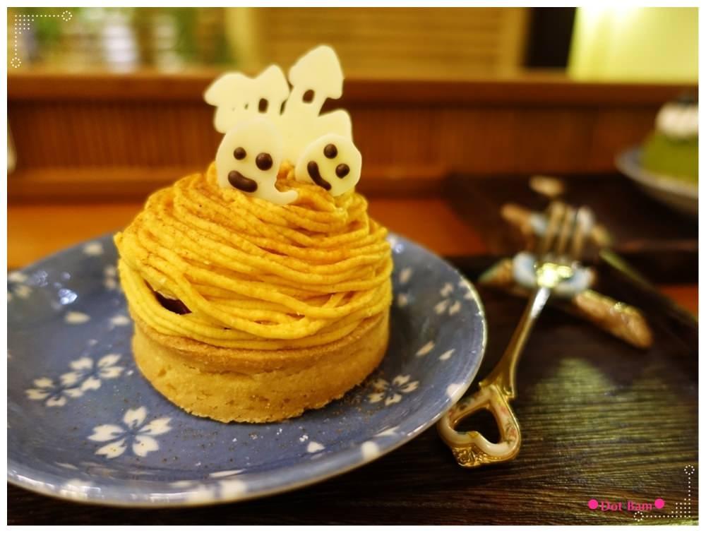 青逸Chic Tea •時茶x慢味 萬聖節限定地瓜塔 2.JPG