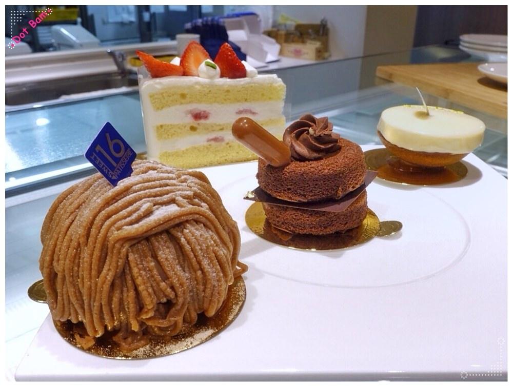 【 甜典16號 Sweet 16 Patisserie ⋈ 台北士林區 天母商圈】既浪漫且充滿溫暖氛圍的日式甜點店,邊吃邊感受少女情懷*