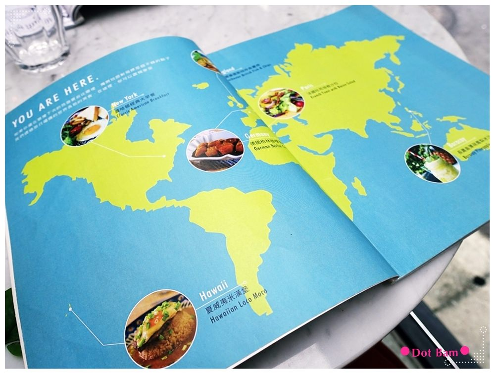 任意門旅行風咖啡館Anywhere Cafe %26; Travel MENU 2.JPG