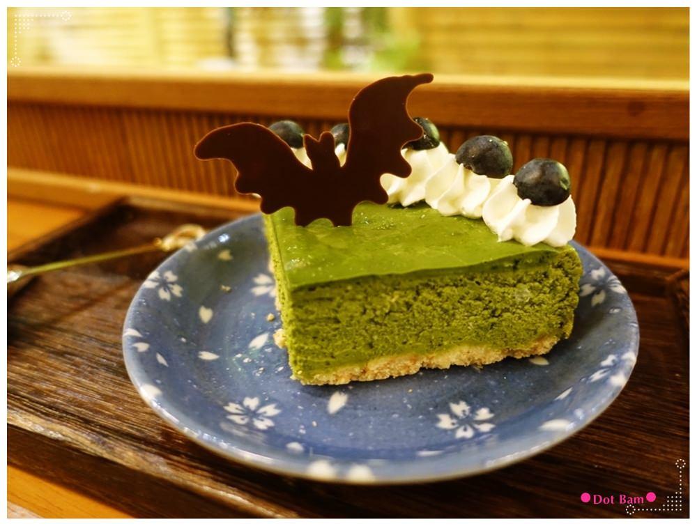 青逸Chic Tea •時茶x慢味 抹茶重乳酪蛋糕 1.JPG