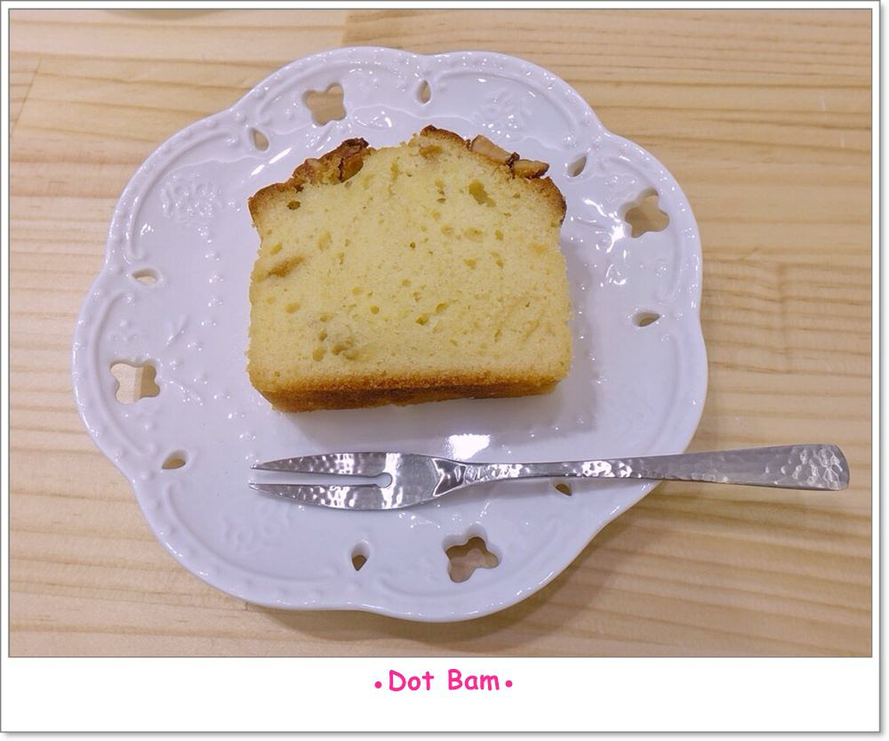 Moli衣裝●咖啡●日常 杏仁柚香磅蛋糕.JPG