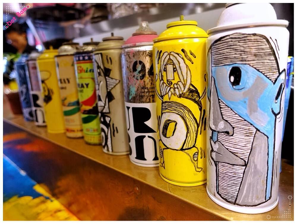 【URBN ⋈Culture台北市大安區捷運六張犁站】街頭塗鴉氛圍中吃蔬食搭配精釀啤酒吧,蔬食餐廳新選擇 3.JPG