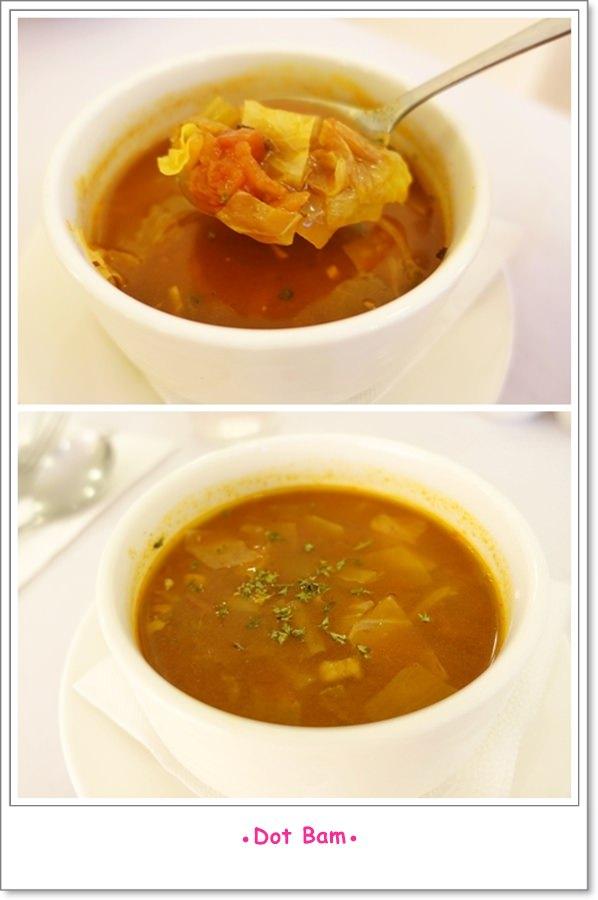 雨菓西餐 當日湯品 蔬菜番茄湯.jpg
