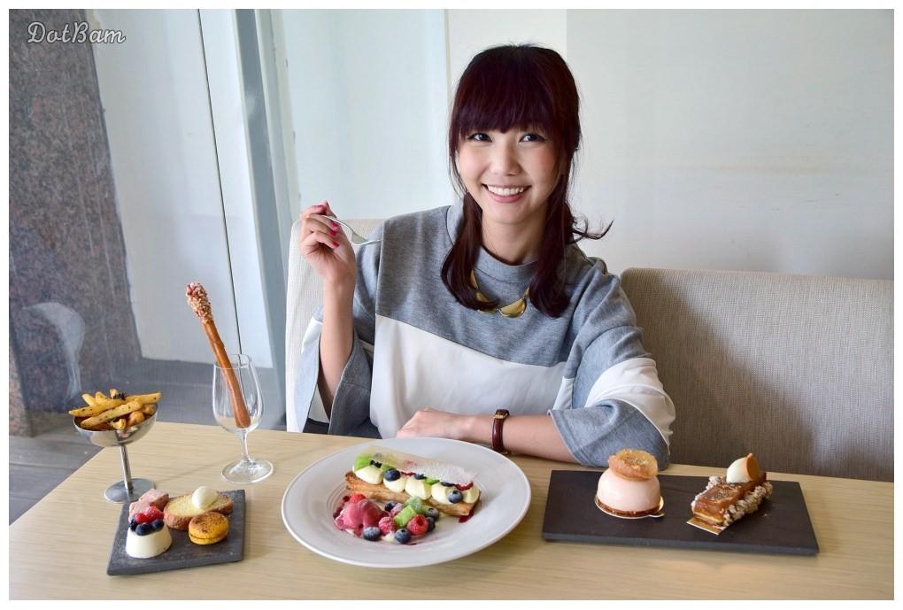 捷運大直站美食|SEASON桌邊現作法式千層派,繽紛色系的夏日酸甜!