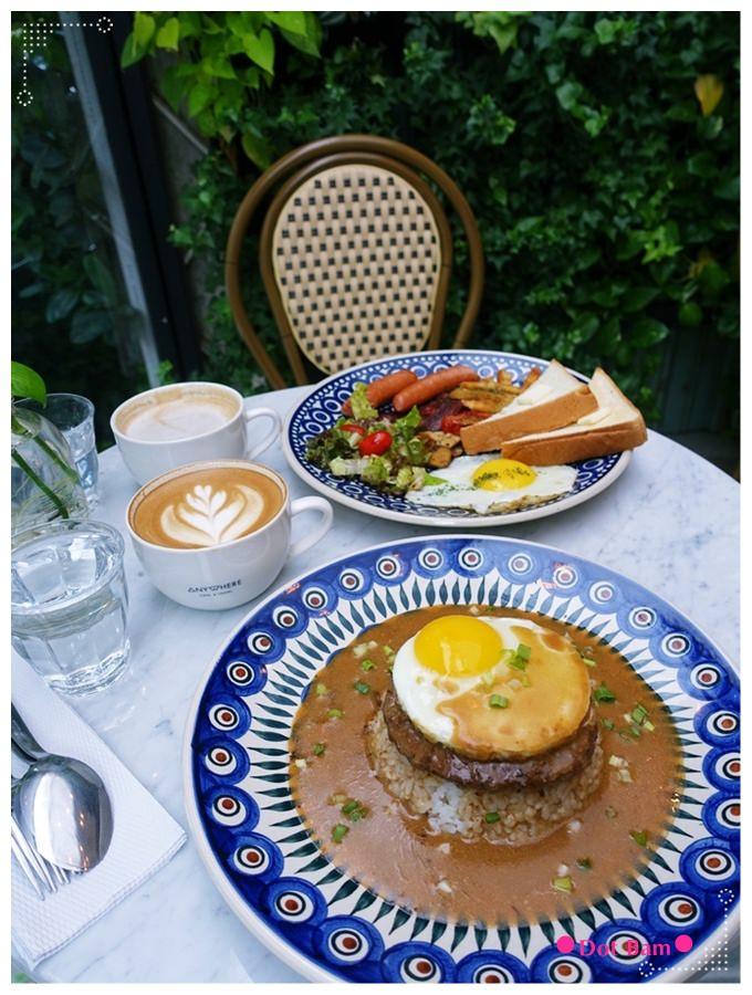 任意門旅行風咖啡館Anywhere Cafe %26; Travel 法國巴黎用餐區.JPG